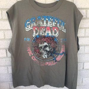 Grateful Dead 1974 Civic Center Philadelphia Tee